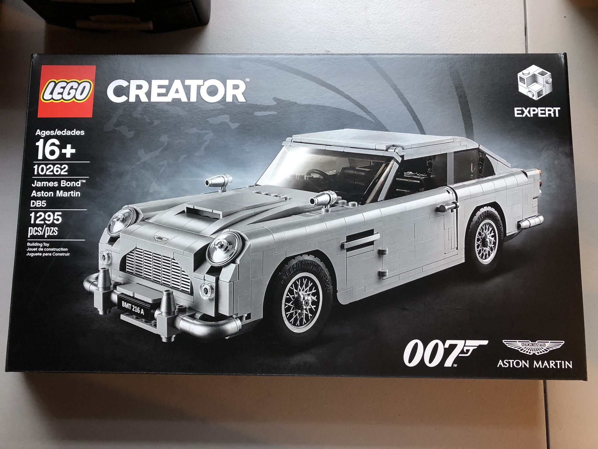 Lego James Bond Aston Martin Db5 Creator Series Prf S